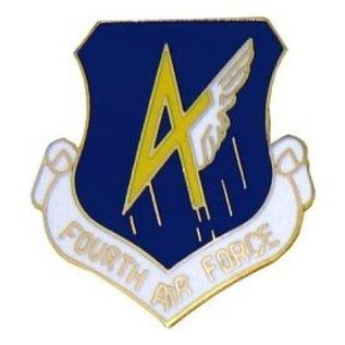 4th Air Force Pin (1 inch)