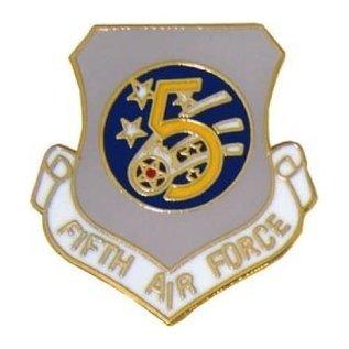 5th Air Force Pin (1 inch)