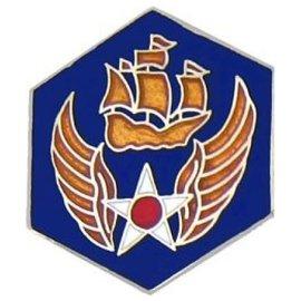 6th Air Force Pin (7/8 inch)