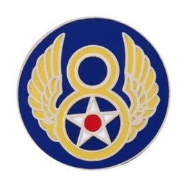8th Air Force Pin (3/4 inch)
