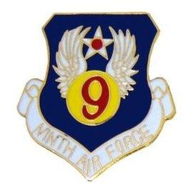 9th Air Force Pin (1 inch)