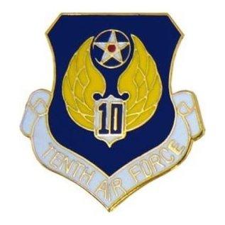 10th Air Force Pin (1 inch)