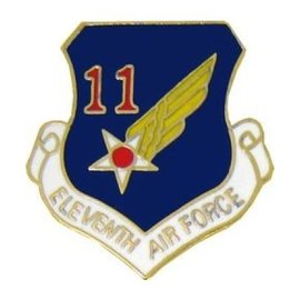 11th Air Force Pin (1 inch)