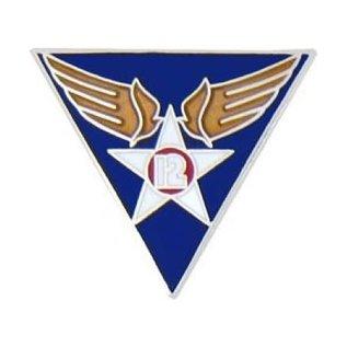 12th Air Force Pin  (1 inch)