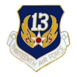 13th Air Force Pin (1 inch)