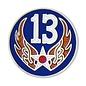 13th Air Force Pin (3/4 inch)
