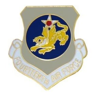 14th Air Force Pin (1 inch)