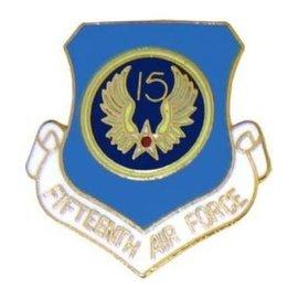 15th Air Force Pin (1 inch)