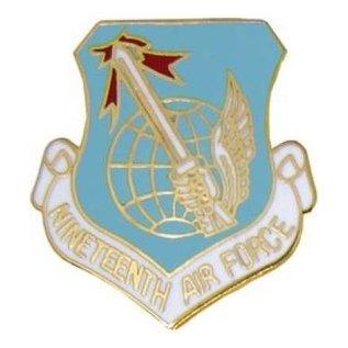 19th Air Force Pin (1 inch)