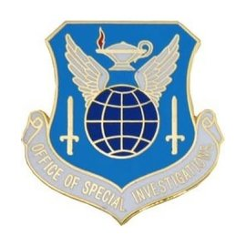 Office of Special Investigations (AFOSI) Pin - 14588 (1 1/8 inch)