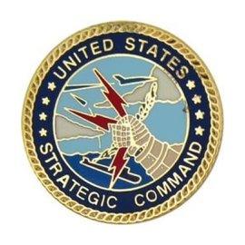 United States Strategic Command Pin - 15818 (1 inch) (DISC)