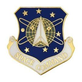 United States Space Command (USSPACECOM) Hat Pin 15731 (1 1/8 inch)