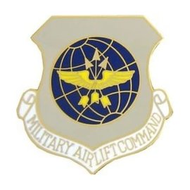 Military Airlift Command (MAC) Pin - 15141 (1 1/8 inch)