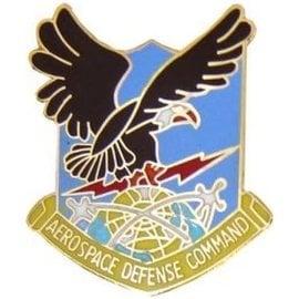 Aerospace Defense Command Pin - 15144 (1 1/4 inch)