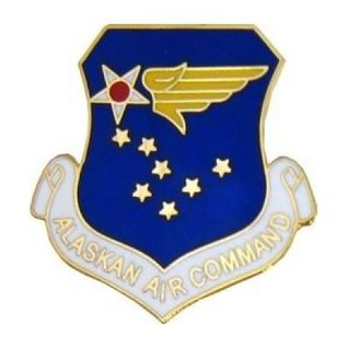 Alaskan Air Command (AAC) Pin - 15147 (1 1/8 inch)