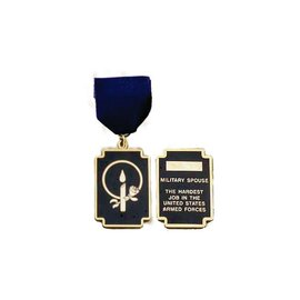 Morgan House Spouse Medal