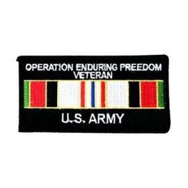 US Army Enduring Freedom Veteran - FL1835