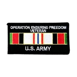 US Army Enduring Freedom Veteran - FL1835