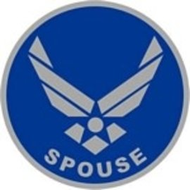 "Air Force Logo Spouse Pin PI00025 (7/8"")"