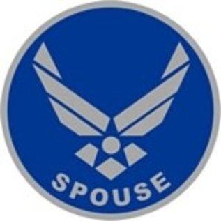 """Air Force Logo Spouse Pin PI00025 (7/8"""")"""