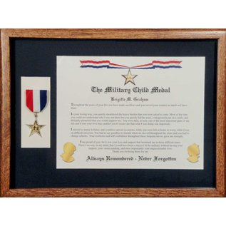 Morgan House Military Child Medal