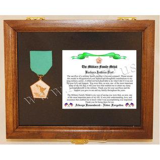 Morgan House Family Medal