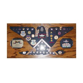 Morgan House Colonel Rank Shadow Box