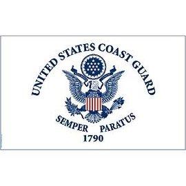 Coast Guard Flag - 3'x5'