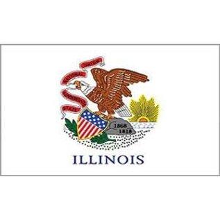 Illinois State Flag - 3'x5'