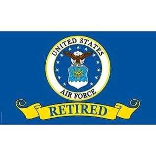 USAF Retired Flag, 3x5