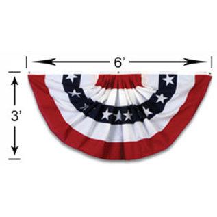 "Flag Bunting - Large - 36""x72"""