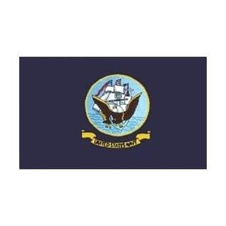 Navy Flag - 3x5 Nylon Flag 2 sided embroidered