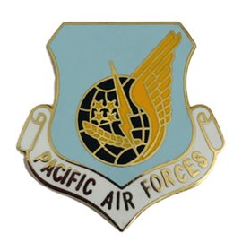 Pacific Air Forces (PACAF) Command Pin - OLD  - 15143 (1 1/8 inch)
