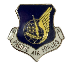 Pacific Air Forces (PACAF) Command Pin - Current - 15143 (1 1/8 inch)