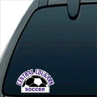 Car Decal - Central Sports