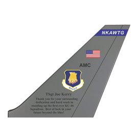 KC-46 Tail Flash