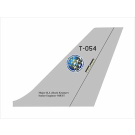 KC-30 / A330 Tail Flash - Wall Hanging