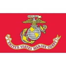 US Marine Corps Flag -  3'x5'