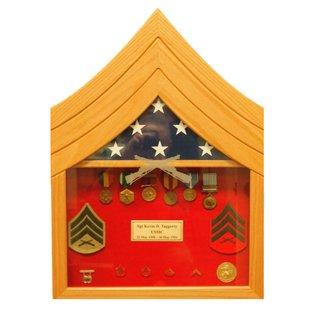 Morgan House US Marine Corps Sgt Shadow Box