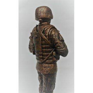 """Terrance Patterson Battle Rattle Statue - 12"""""""