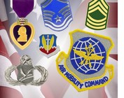 Military Medals, Pins & Patches