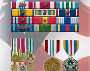 Full Size Medals, Mini Medals & Ribbons