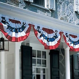 "Flag Bunting - Small - 18""x36"""