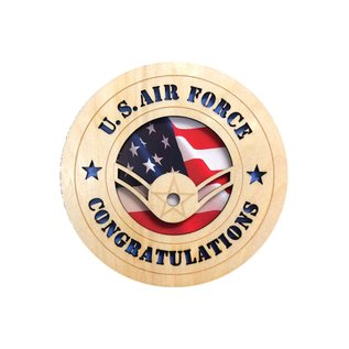 Morgan House Air Force Enlisted Tribute - Rank Congratulations