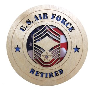 Morgan House Air Force Enlisted Tribute - Retired