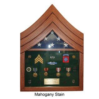 Morgan House US Army SGT Shadow Box