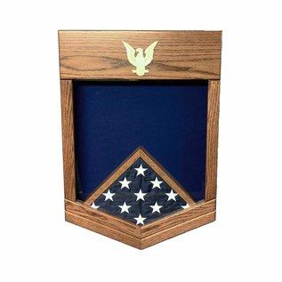 Morgan House US Navy / USCG PO2 Shadow Box