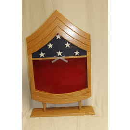Morgan House US Marine Corps GySgt Shadow Box