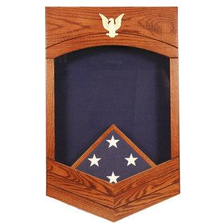 Morgan House US Navy /USCG CPO Shadow Box