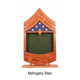 Morgan House US Army MSG or 1SG Shadow Box